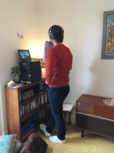 man standing in front of computer Generative Change