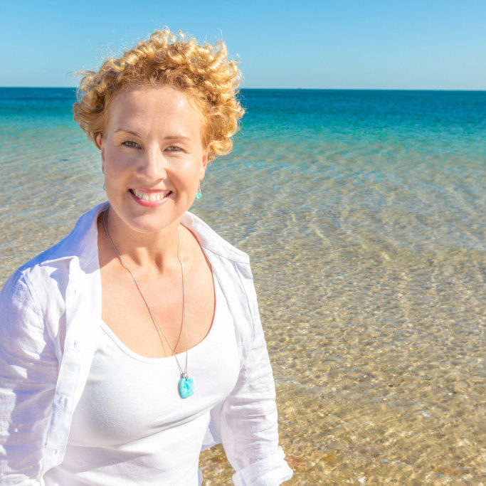 Live the life you're imagining Life Changing Results with Client Coach at beach professional