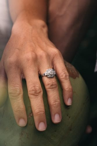 diamond ring on mother's finger values are the secret to happiness generative change