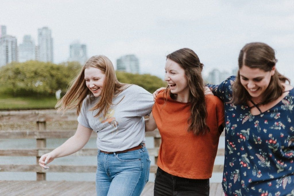 Three friends the secret to happiness generative change