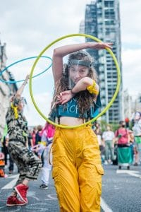 Woman hula hooping we care a lot Generative Change Life Changing Coaching Online and by Phone