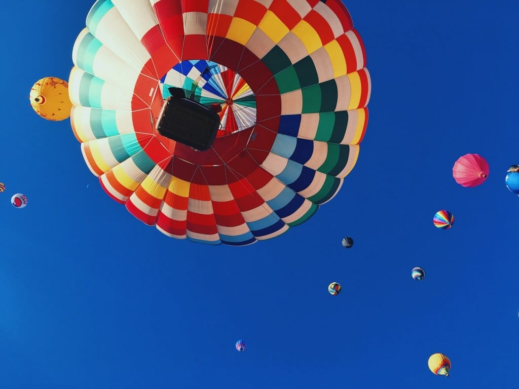 Hot air balloons The Difference a professional makes Generative Change Life Changing Coaching Online and By Phone