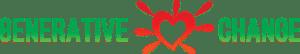 Live the life you're imagining Generative Change Logo Green writing